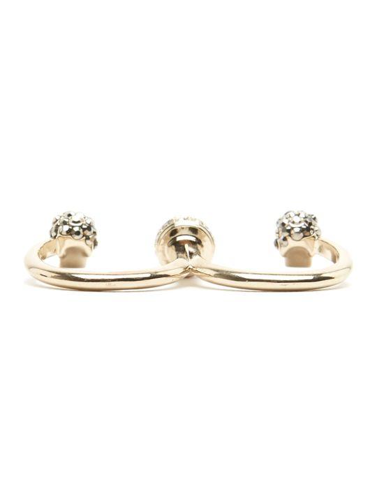 Alexander McQueen 'skulls' Ring