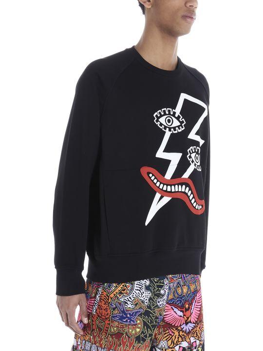Neil Barrett 'surrealista' Sweatshirt