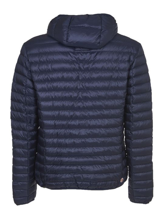 Colmar Blue Down Jacket With Hood