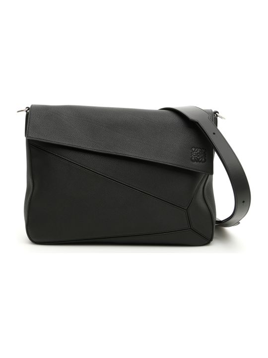 Loewe Grain Leather Puzzle Bag
