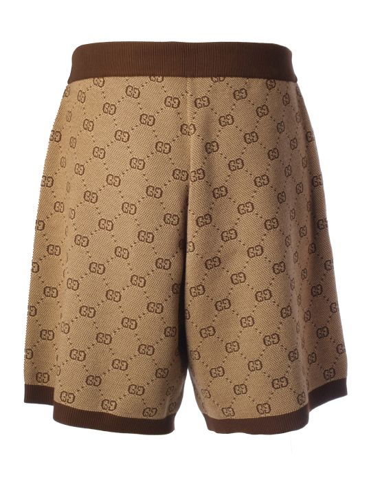 Gucci Gg Supreme Monogram Shorts