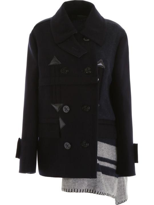 Sacai Asymmetric Jacket