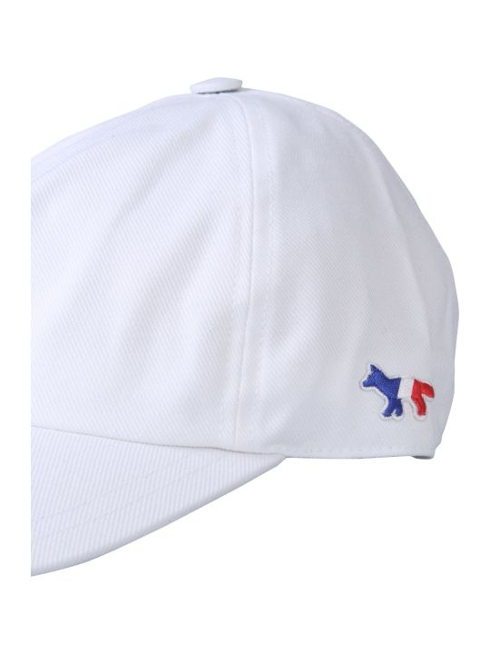 Maison Kitsuné Baseball Cap With Tricolor Fox Patch