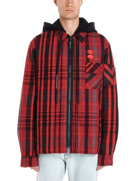 Off-White 'padded Flannel Shirt' Jacket