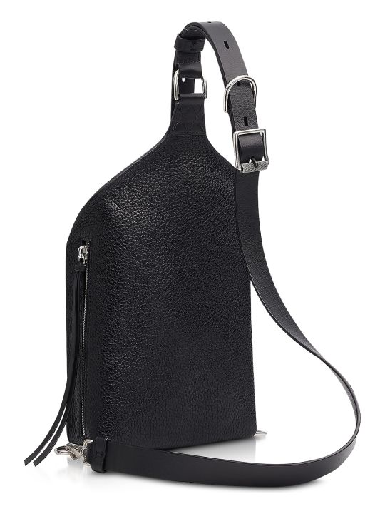 Rag & Bone Black Leather Elliot Sing Pack