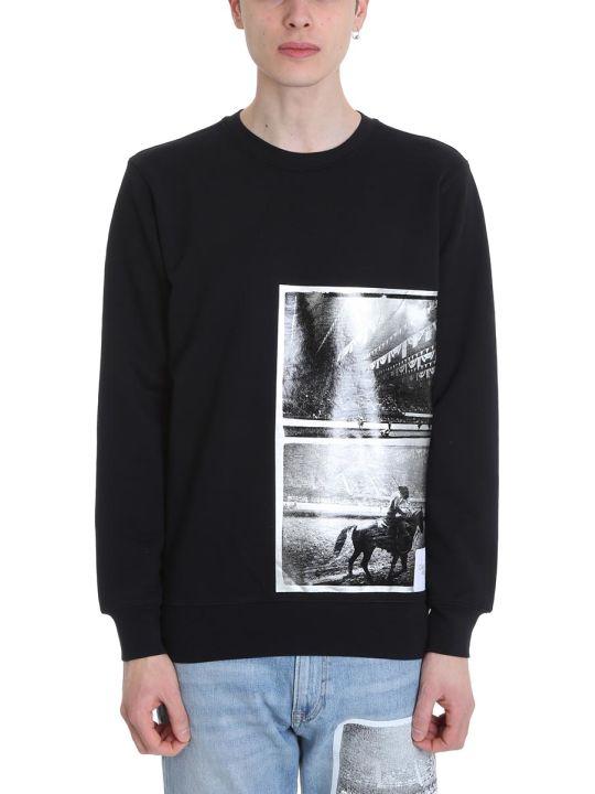 Calvin Klein Rodeo Black Cotton Sweatshirt
