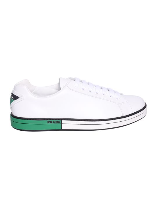 Prada Linea Rossa Low-top Laced-up Sneakers