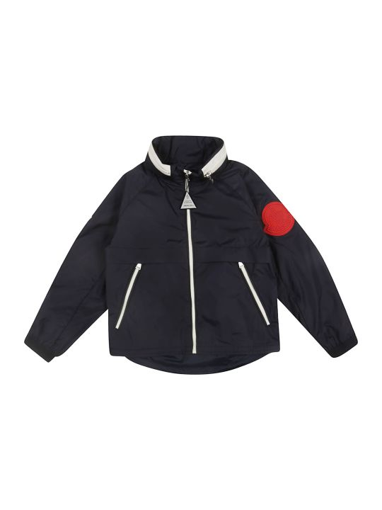 Moncler Kids Concealed Hooded Jacket