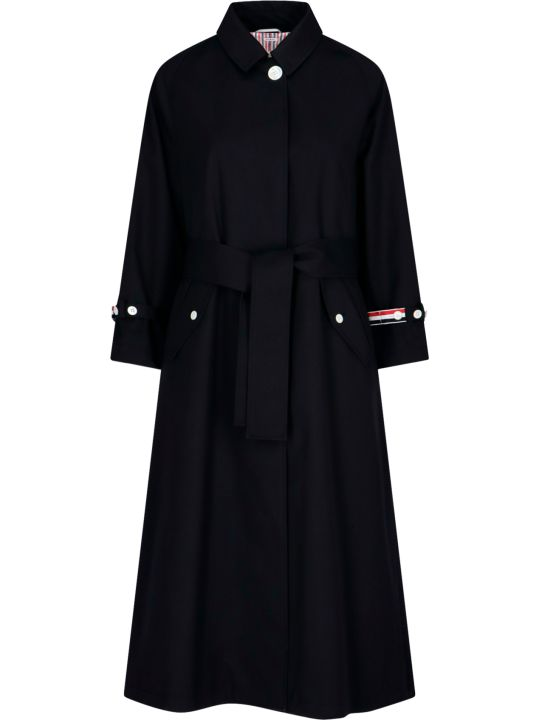 Thom Browne Flared Trench Coat