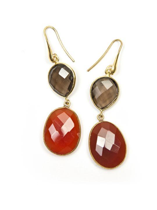 Bianca Baykam Crystal Detail Earrings
