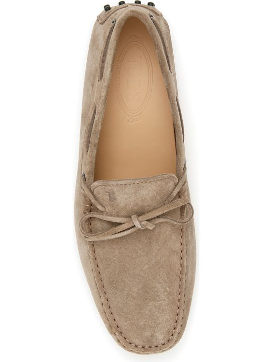 Tod's Suede Gommino Loafers