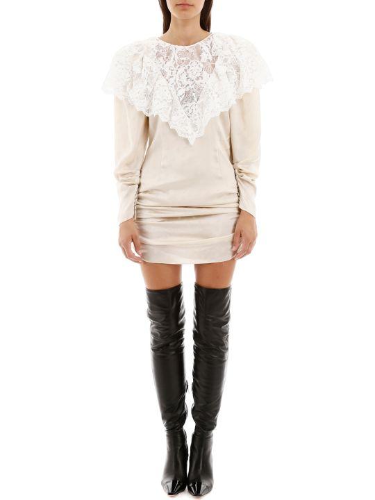 Magda Butrym Beja Mini Dress With Lace