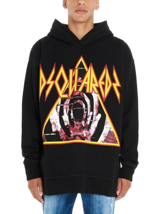 Dsquared2 'logo Metal Triangle Heads' Hoodie