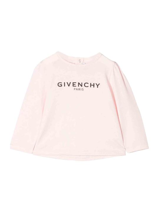 Givenchy Pink Newborn Sweater