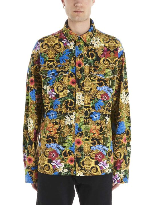 Versace Jeans Couture 'tropical Baroque' Shirt