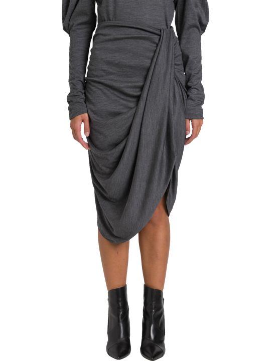 Isabel Marant Datisca Draped Midi Skirt