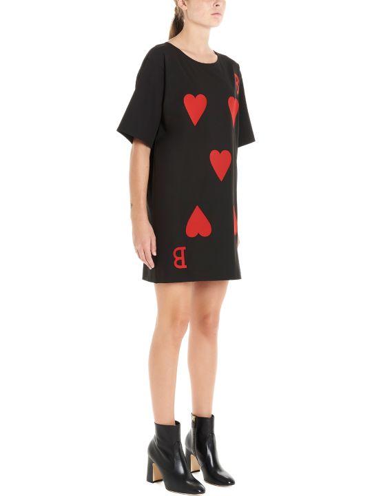 Boutique Moschino 'cards' Dress