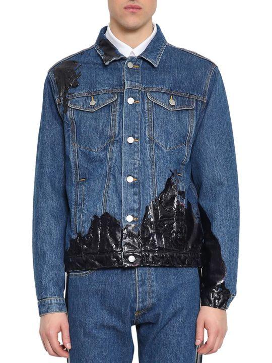 MISBHV Wet Print Cotton Denim Jacket