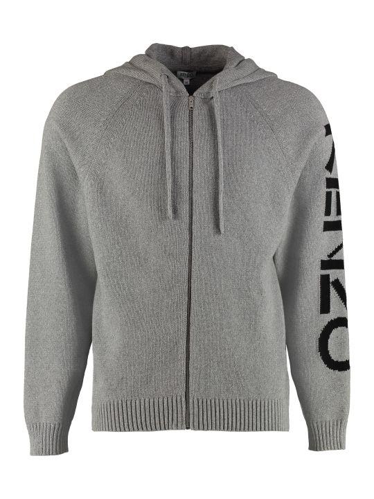 Kenzo Jersey Hooded Sweatshirt