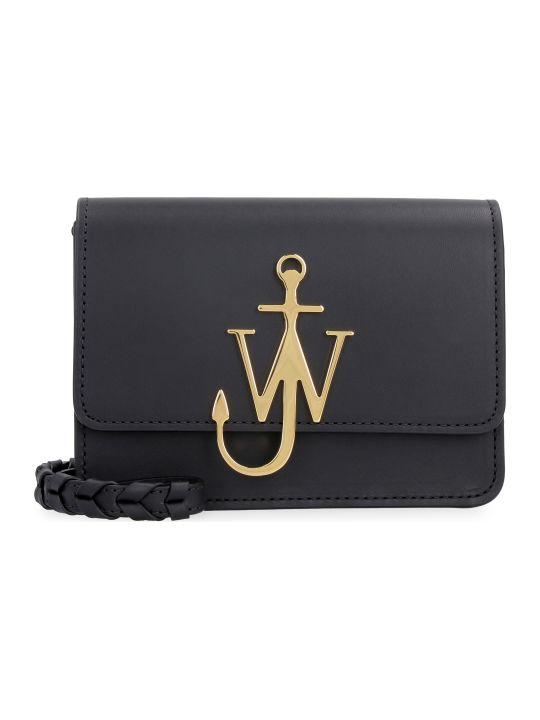 J.W. Anderson Anchor Logo Leather Crossbody Bag