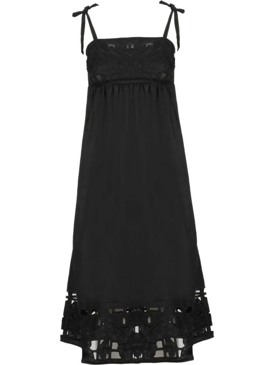 Zimmermann Tie Shoulder Strap Dress
