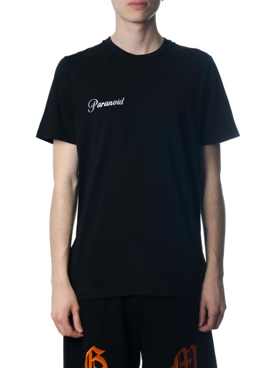 OMC Parahold Black Cotton T-shirt