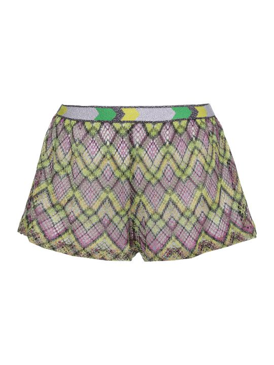 Missoni Open Worked Multicolor Short