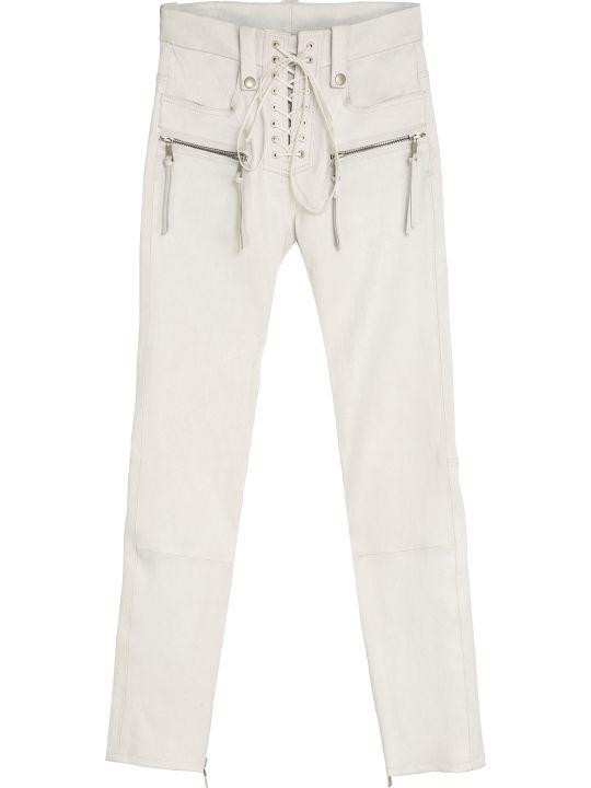 Ben Taverniti Unravel Project Vintage Leather Trousers