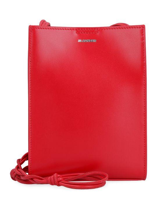 Jil Sander Tangle Leather Crossbody Bag
