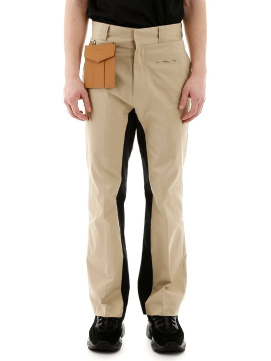Palm Angels Trousers With Detachable Pocket