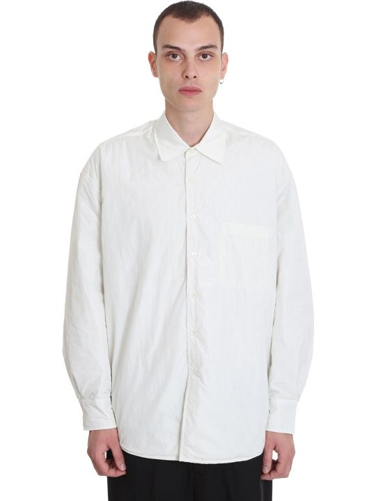 Our Legacy Casual Jacket In White Polyamide