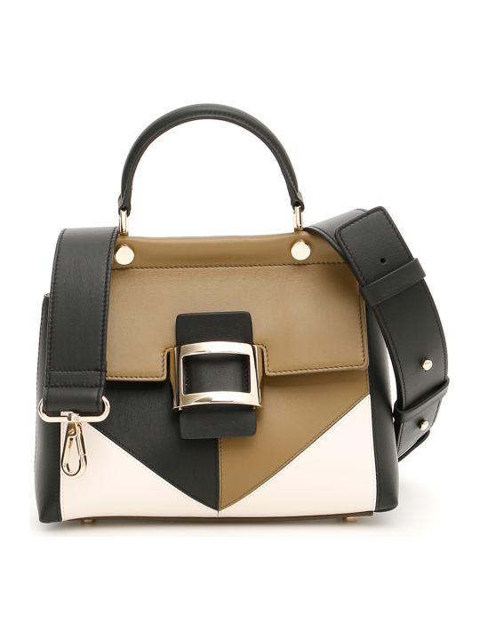 faa9fc177153 Roger Vivier Patchwork Graphic Mini Viv Bag