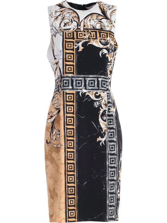 Versace Collection Pattern Printed Dress