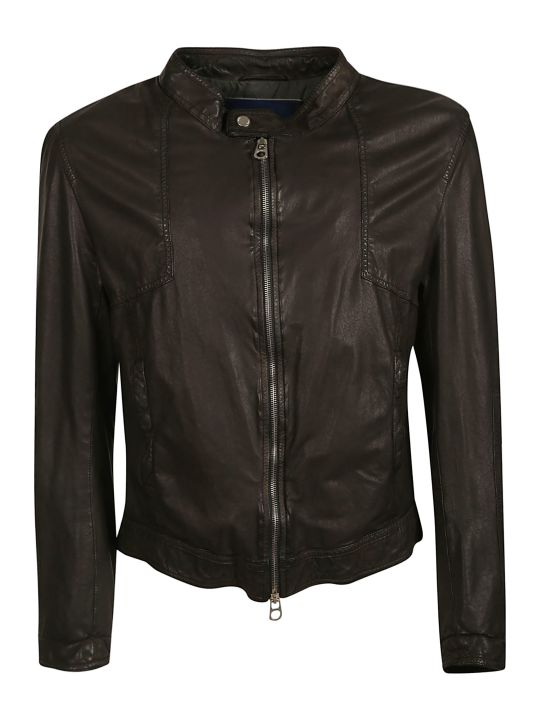 DROMe Drome Zipped Leather Jacket