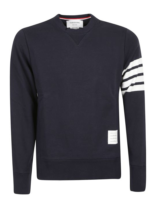 Thom Browne 4-bar Jersey Sweatshirt