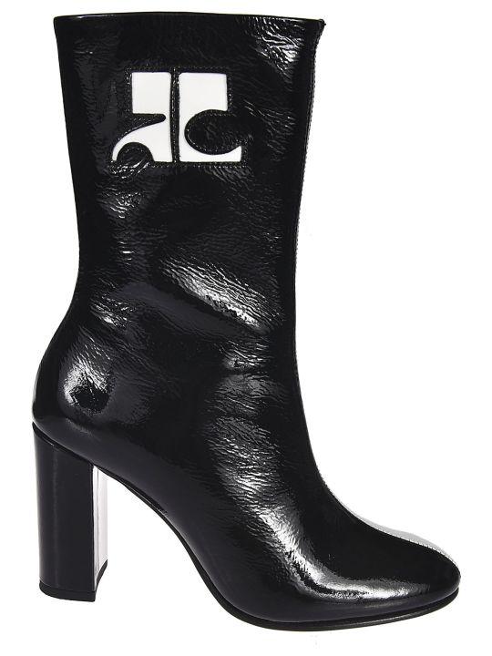 Courrèges Color Contrast Boots