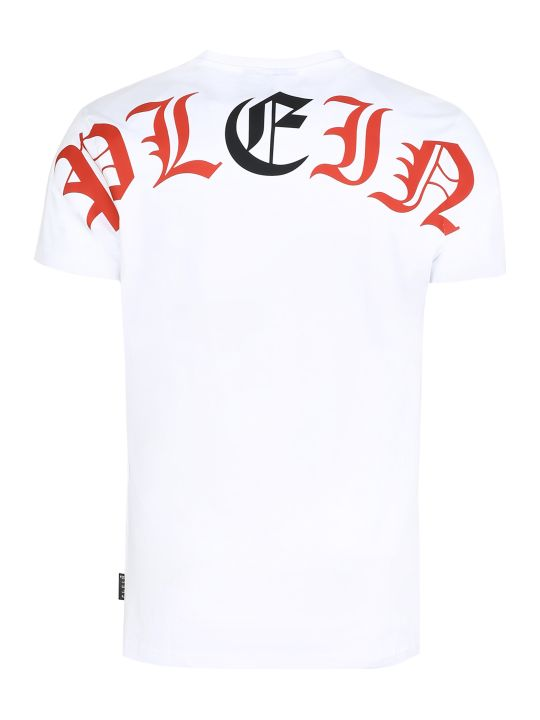 Philipp Plein Crew-neck Cotton T-shirt