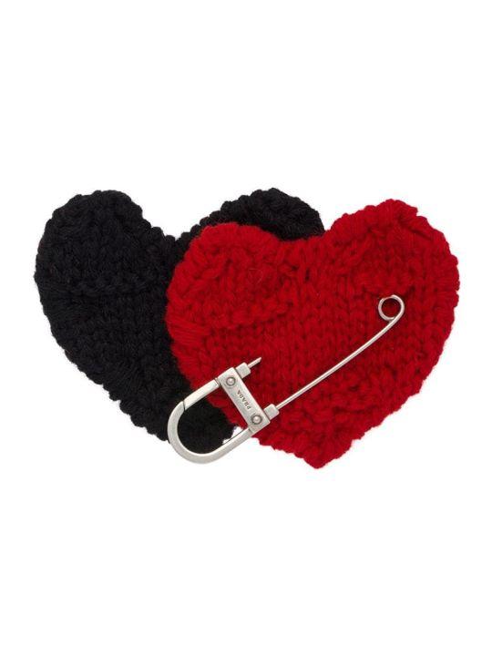 Prada Brooch Knitten Heart