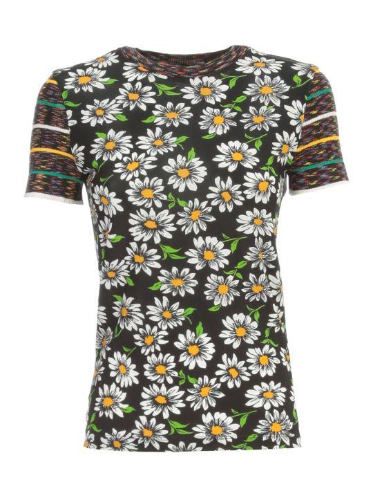 M Missoni T-shirt S/s Crew Neck Fantasy Flowers
