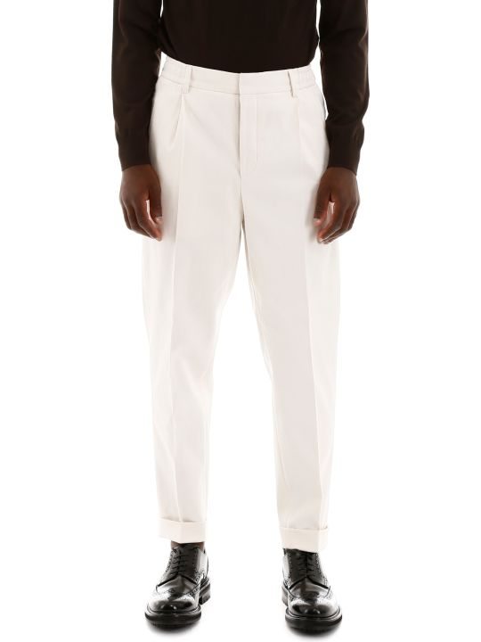 CC Collection Corneliani Drawstring Trousers