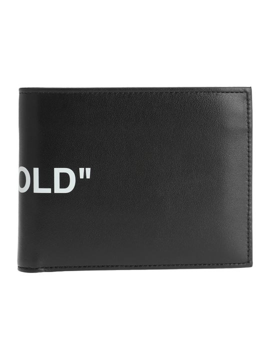 "Off-White Off White ""bi-fold"" Quote Wallet"