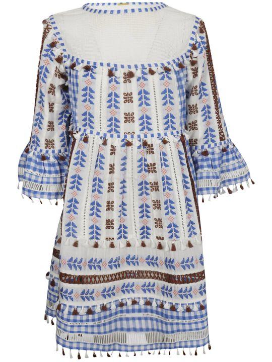 Dodo Bar Or Embroidered Tassel Mini Dress