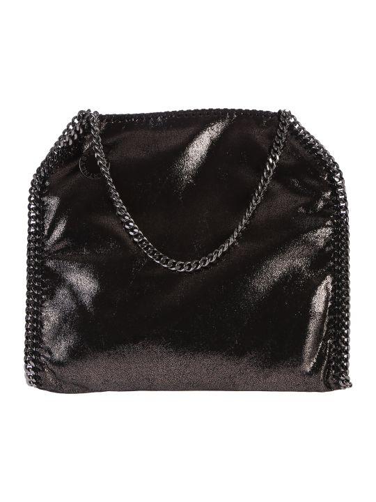 Stella McCartney Black Falabella Double Chain Bag