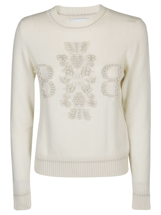 Barrie 3d Logo Knitted Jumper