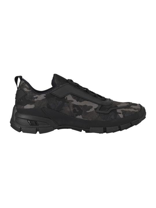 Prada Camouflage Nylon Sneakers