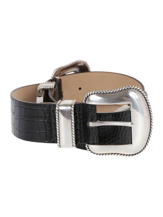 B-Low the Belt Cintura Rouge Croco