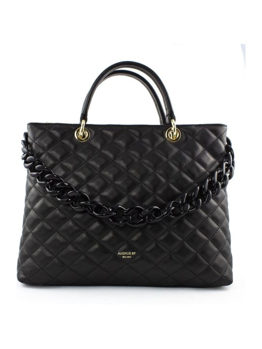 Avenue 67 Violante Bag In Black Leather
