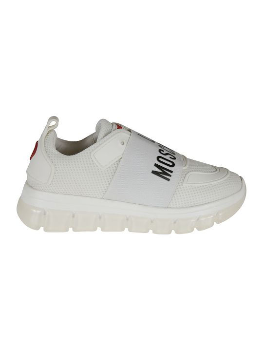 Love Moschino Logo Sock Sneakers