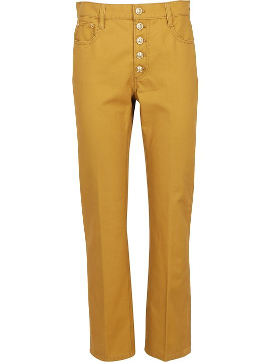 Tory Burch Button-fly Jeans