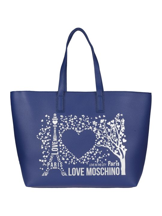Love Moschino Printed Tote